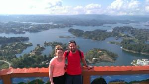 Views from La Piedra Del Peñol