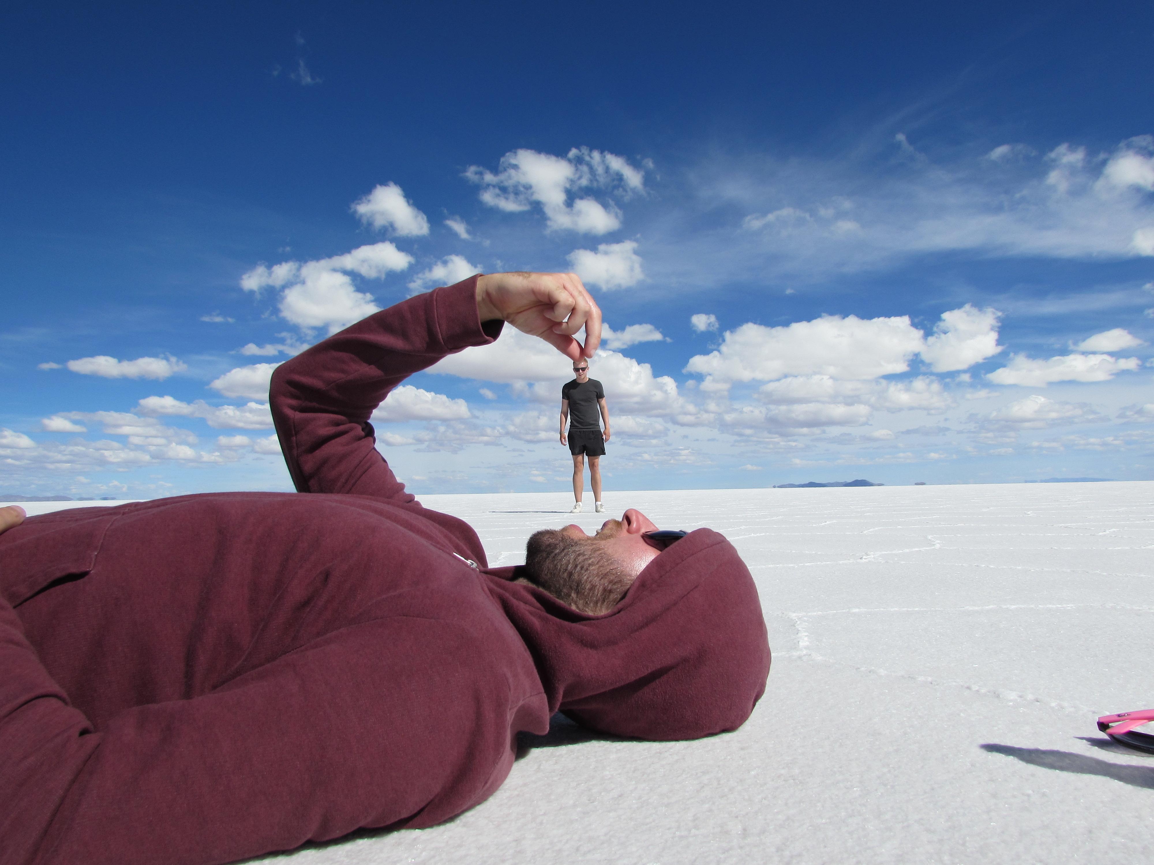Salar de Uyuni – The Salt Flats – Geordie Unsure