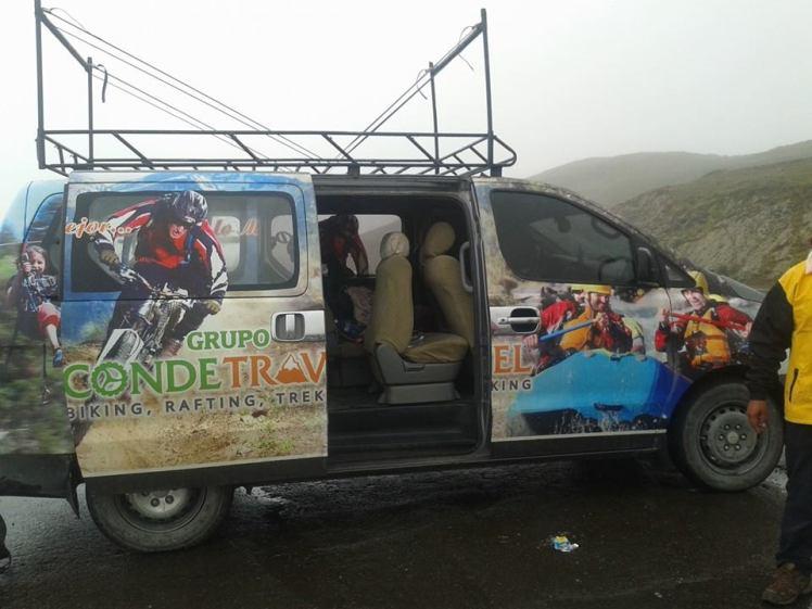 Machu Pichu biking 2