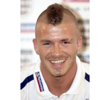 David Beckham Mohawk 2
